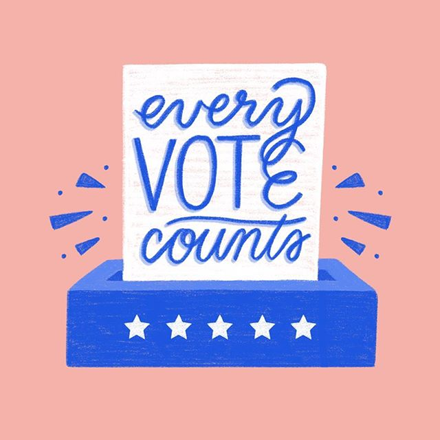 Seriously, go fucking vote today!! It's so so important and it's your responsibility as a citizen. Vote for a better future than what we're tragically getting used to. Every single vote (and Instagram graphic telling you to vote) counts! 💙✔️