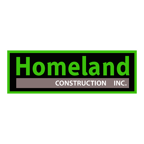 Homeland Construction, Inc.   Homeland Construction Inc. has 15 years of experience, so we really mean it when we say we're here to help you.   We've got all your needs covered: from residential remodels to commercial damage repairs, and everything in between.