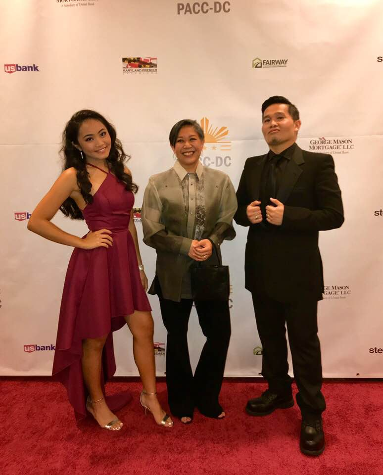 Singers Katrina Manabat, Bambi Manalang, and Michael Goyone.
