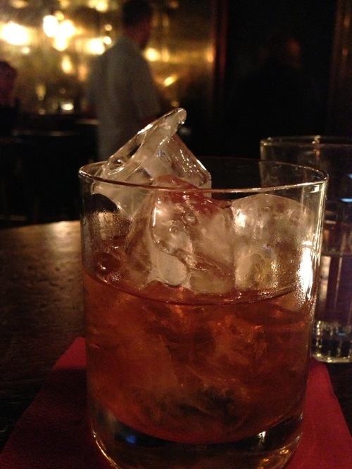 Tobacco Old Fashioned (Rye, Tobacco, Angostura)