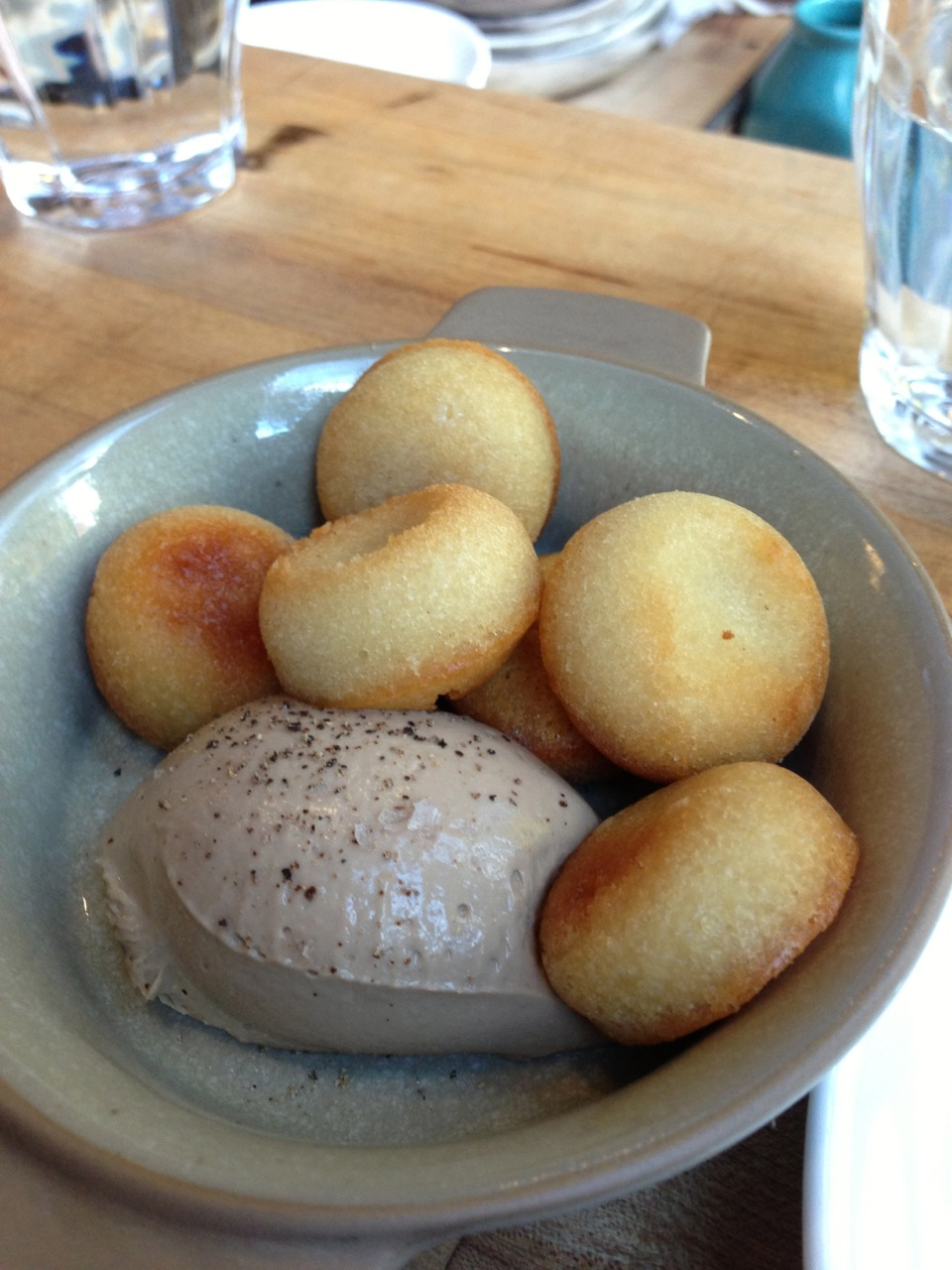 Duck Liver Mousse w/ Financiers