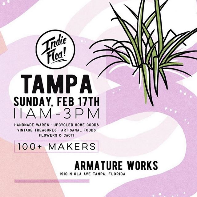 Psyched to be a part of the @indieflea on Sunday!!! All my #tampa #stpete #clearwater #oldsmar Mamas and Friends, come visit us! 💕