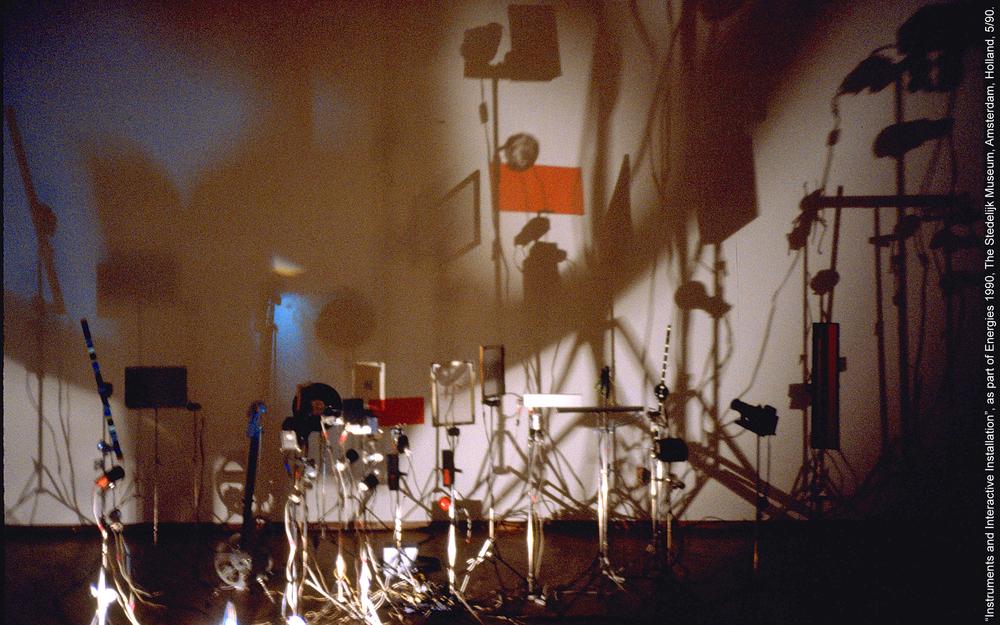 'TIME EMIT', Stedelijk Museum, Amsterdam, 1990