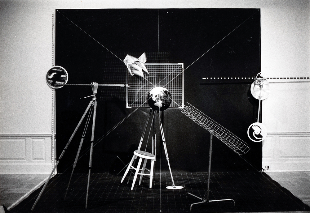 "'Man's Angles"", Portland Art Museum Biennial, Oregon, 1981"
