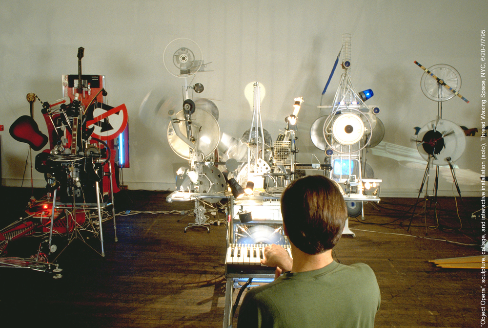 """Object Opera"", Thread Waxing Space, NYC, 1995"