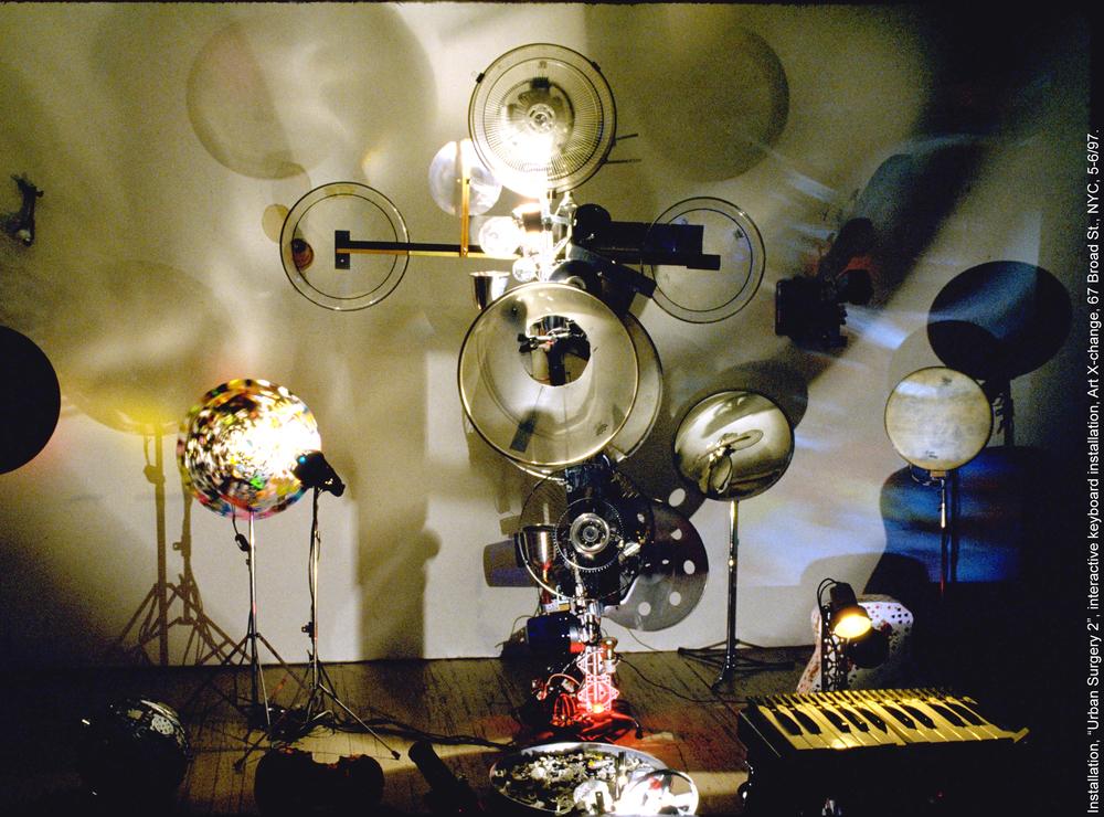 'Urban Surgery' Art X-Change, NY, 1997
