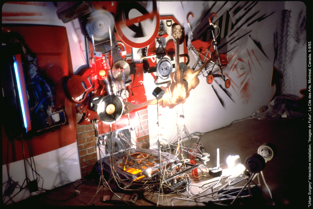 'Urban Surgery', La Cite des Arts , Montreal, 1993