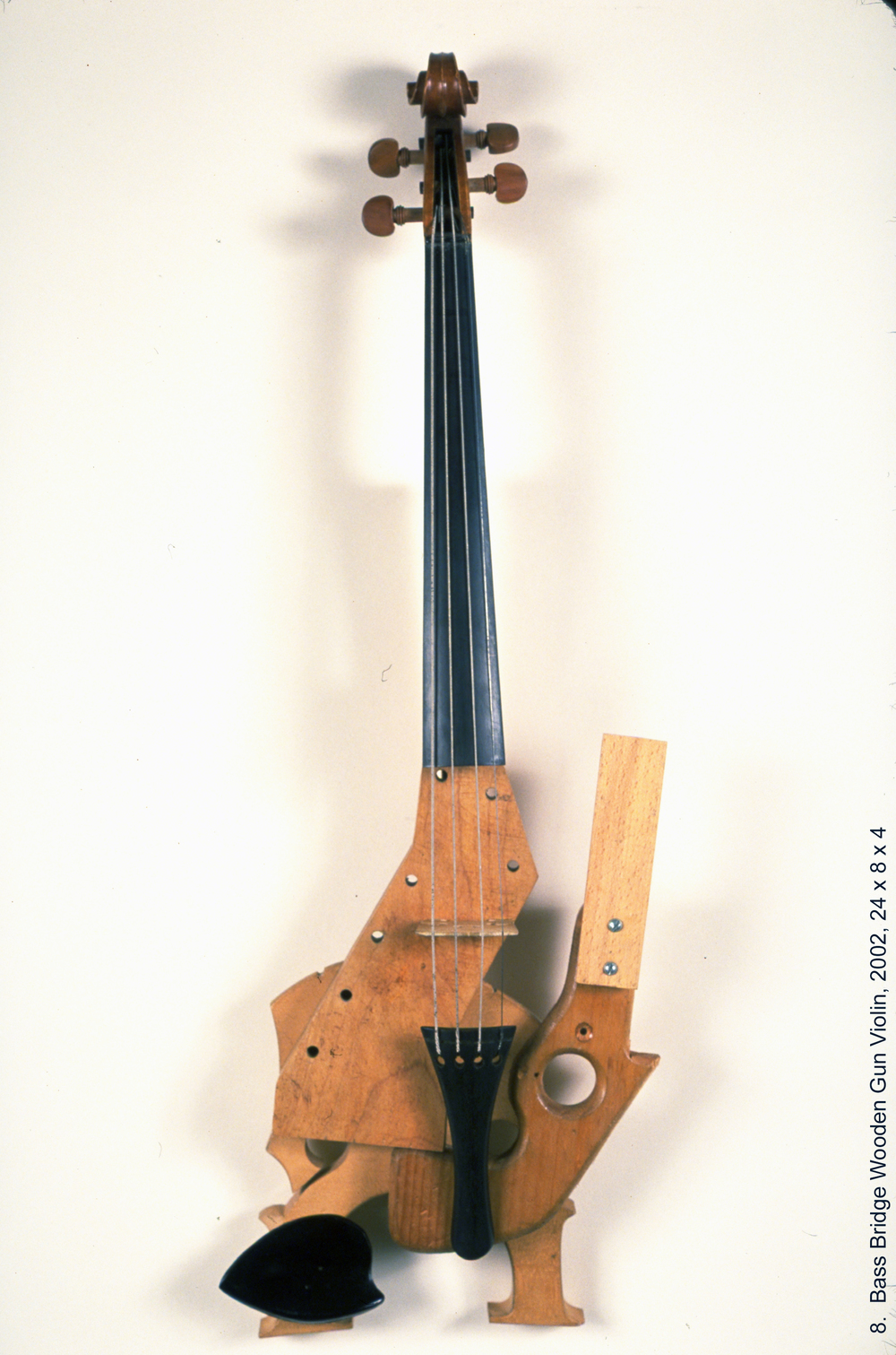 8 Bass Bridge Wooden Gun Violin wt.jpg