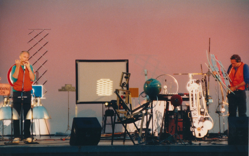 Washington Park Bandshell, Portland 1983  w. Stan Wood