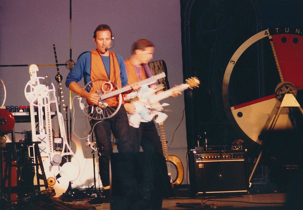 Washington Park Bandshell, Portland 1983  w. Steve Koski