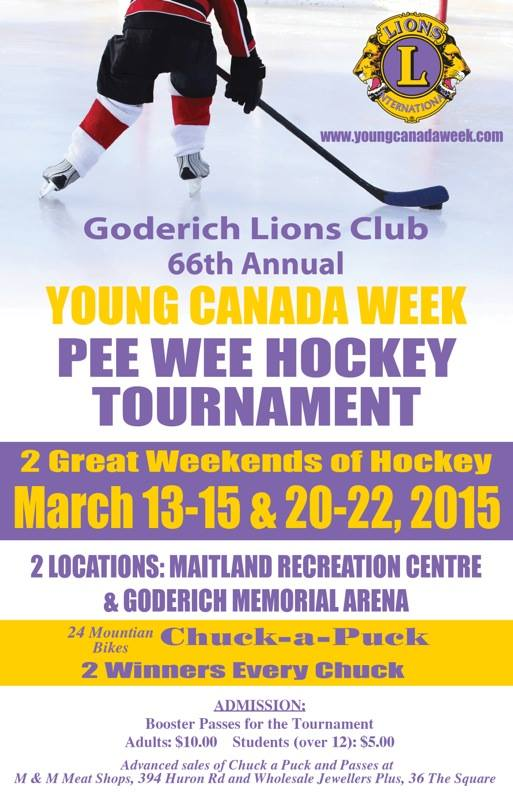 Goderich Lions Club 66th Annual Young Canada Week