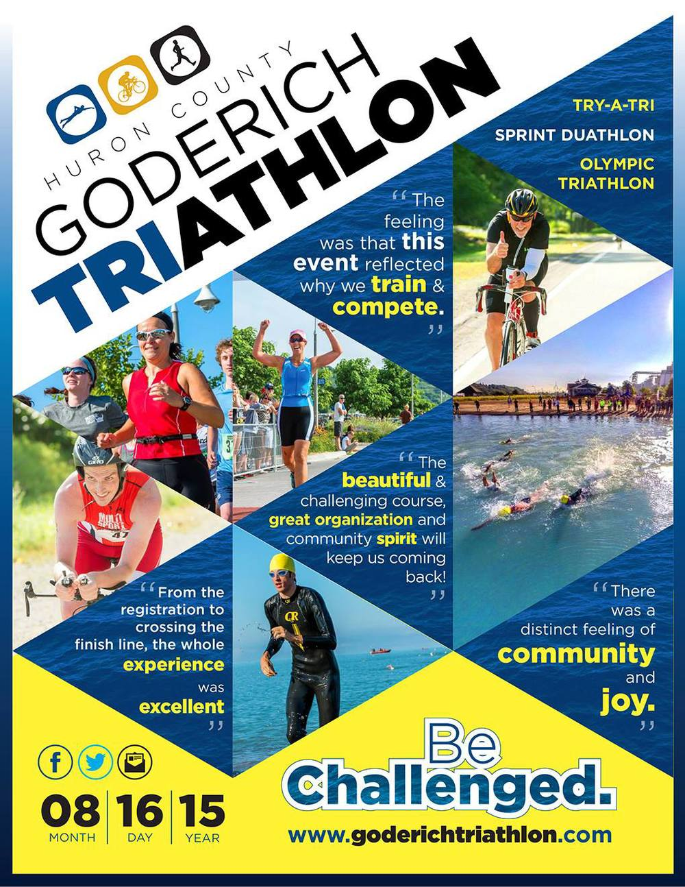 2015 Goderich Triathlon