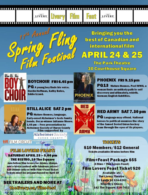 11th Annual Spring Fling Film Festival