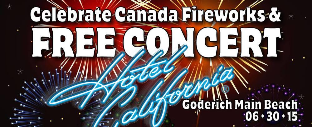 Celebrate Canada Fireworks & Free Concert