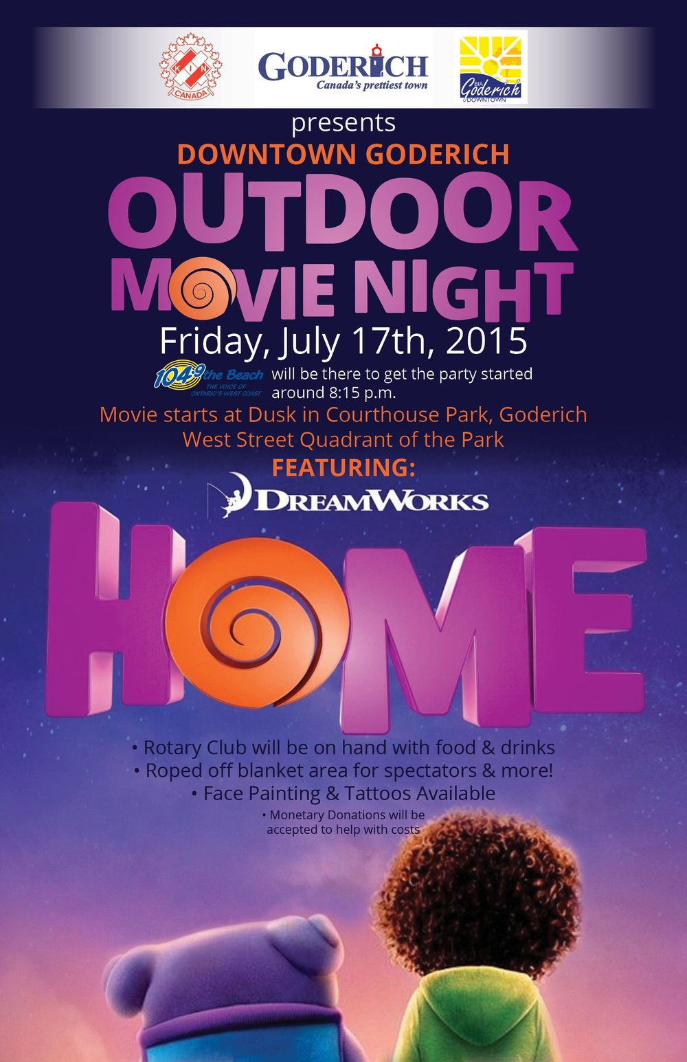 BIA Outdoor Movie Night 2015