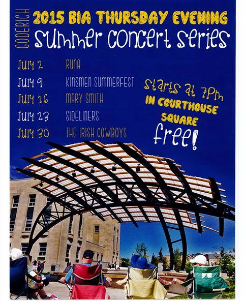 July Concert Series BIA 2015
