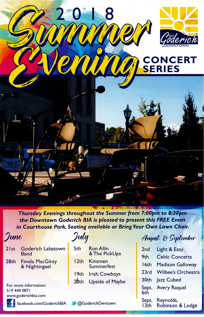 2018 BIA Summer Evening Concert Series