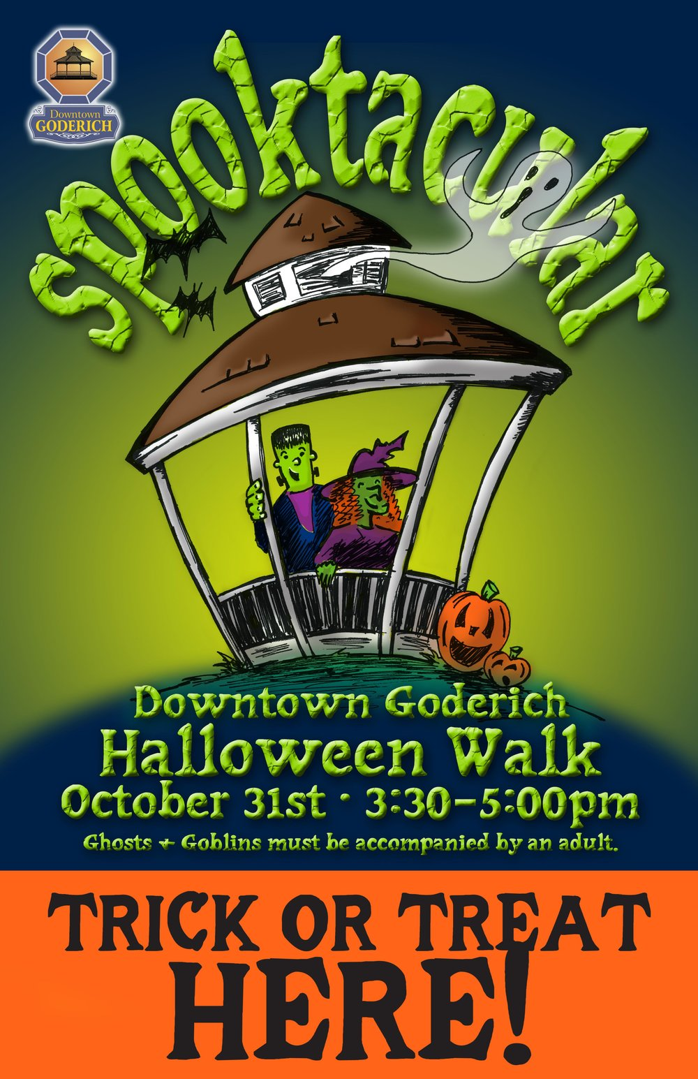 Free event sponsored by the Downtown Goderich BIA businesses. Family Friendly. Appropriate for all ages.