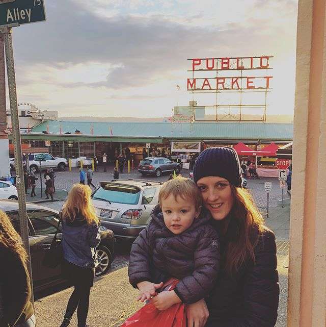 Having us some Seattle public market fun!  @bar4l #seattle #postharvest