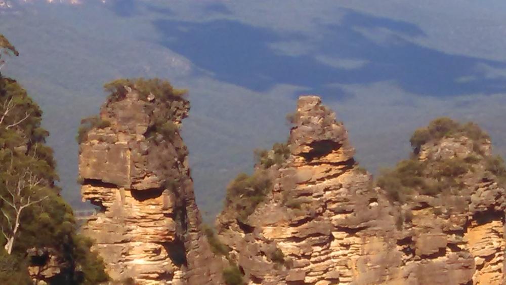 The three sisters in Katoomba.