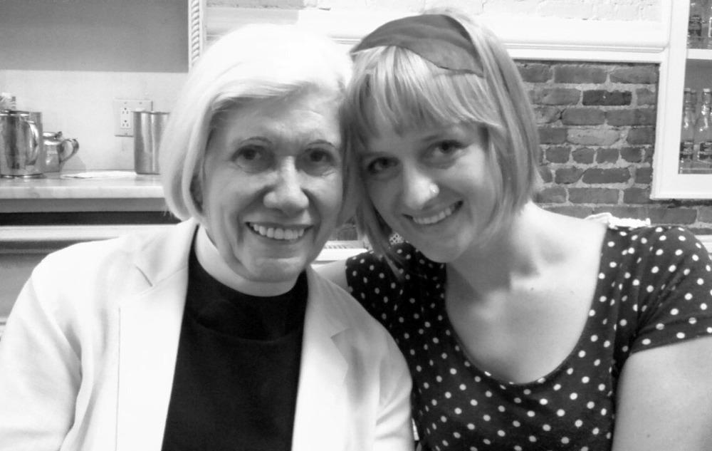 Grandma Anne and Sophia, August 27, 2015.