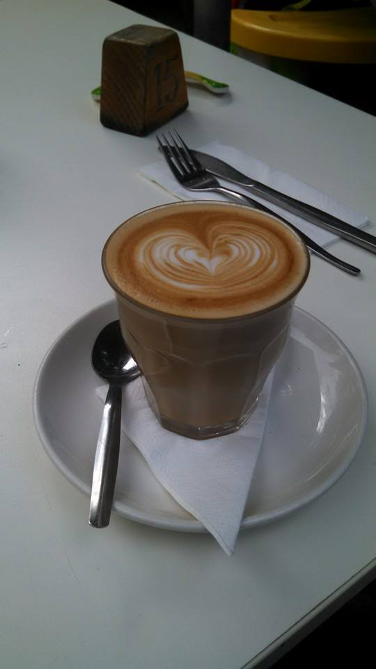 In Leura, they know how to make a latte!