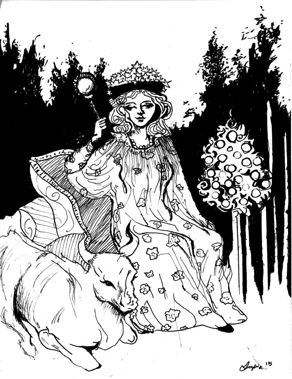 Empress of Fruitful Harvest