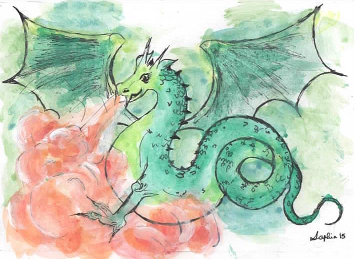Faery-tale Dragon