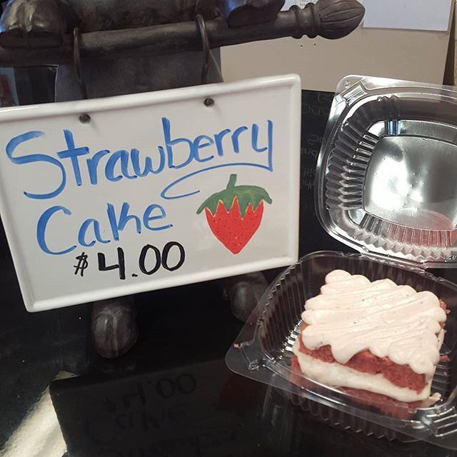 Come try our delicious strawberry cake! Only for a limited time get yours before it's too late!