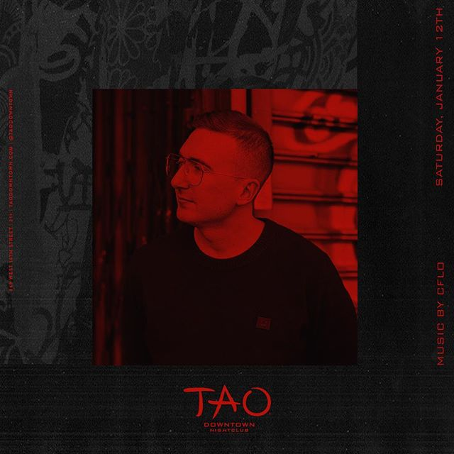 it's Saturday and I'm rocking @taodowntown at midnight, plan accordingly 🤓