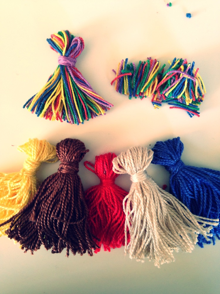 tassles, rainbow, cotton, diy.jpg