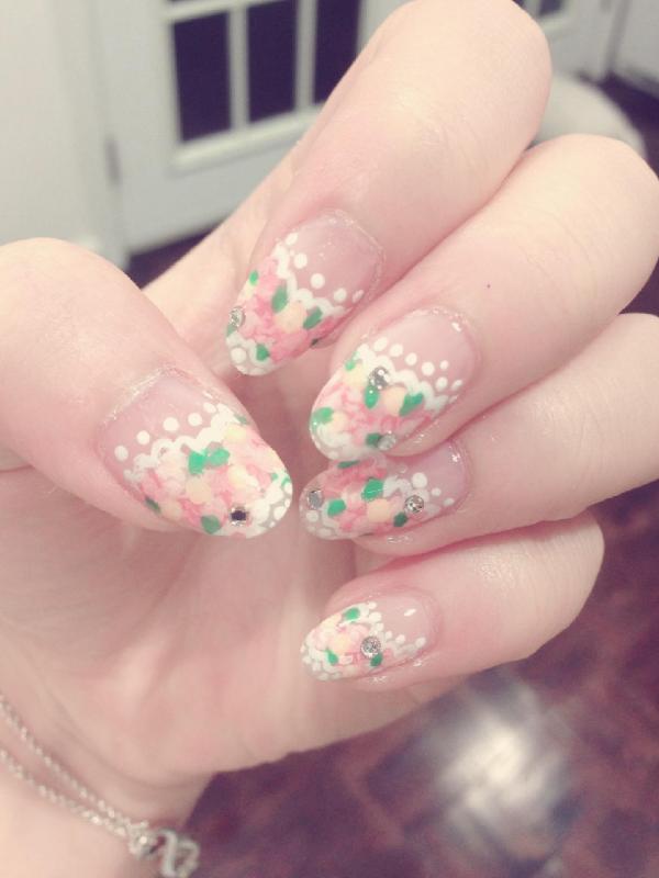 Flower Garden Nails