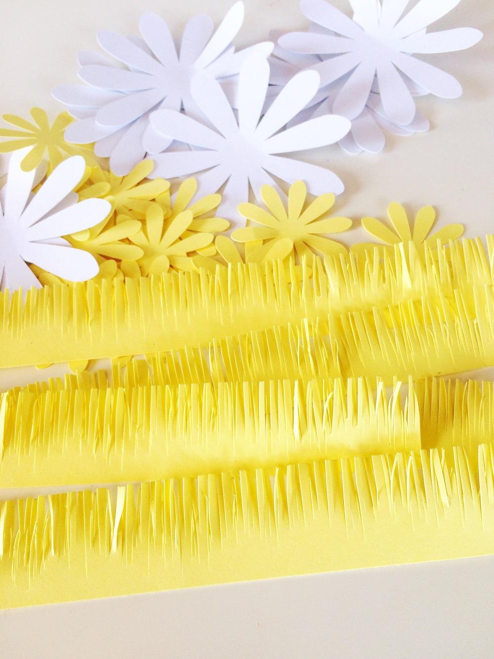 Ромашки из бумаги своими руками (схемы, шаблоны) Остров доброй надежды 13