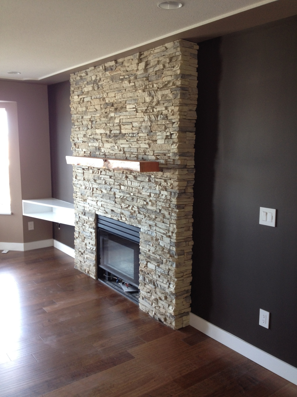 Fireplaces: Natural & Manufactured Stone — River City Rock ...