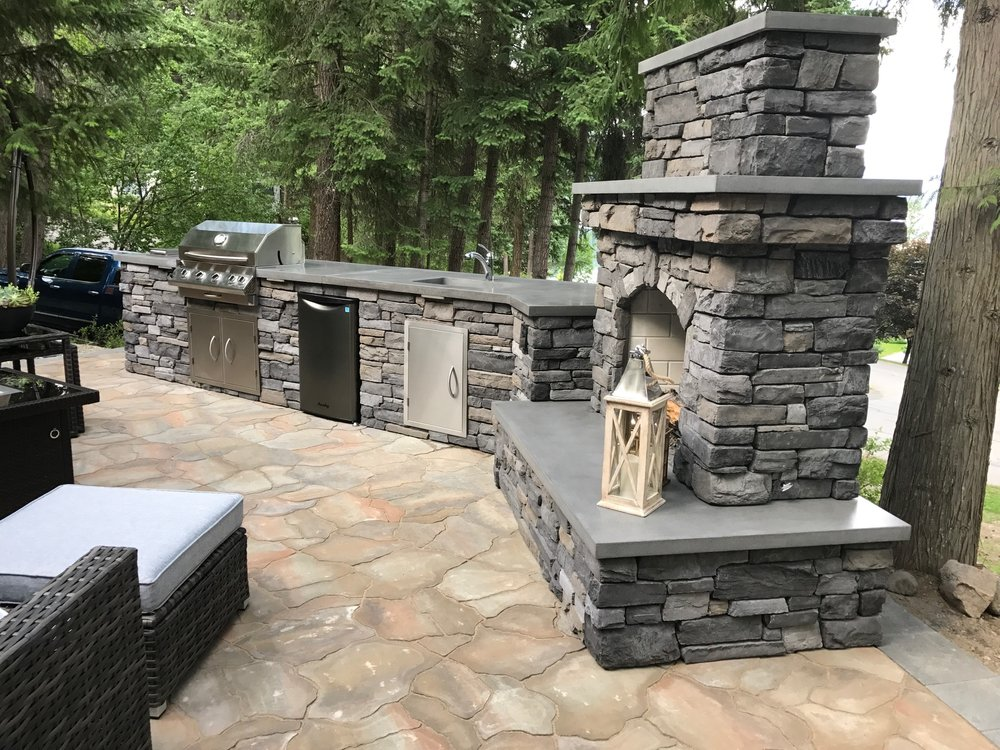 masonry rock fireplaces fireplace extension