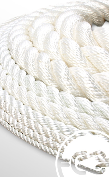 1 1/2-inch braided nylon nautical rope