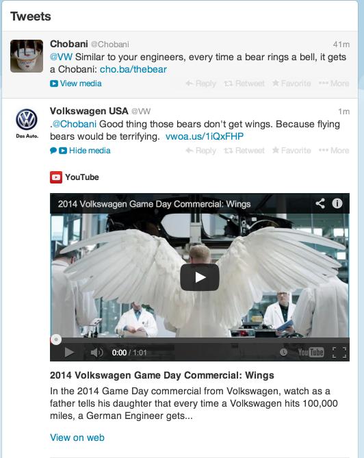 Chobani VW Tweet.png