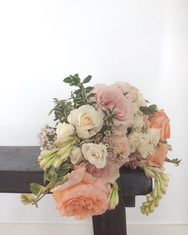 "Close up of a ""bridal bouquet"" from our soft pastel collection"