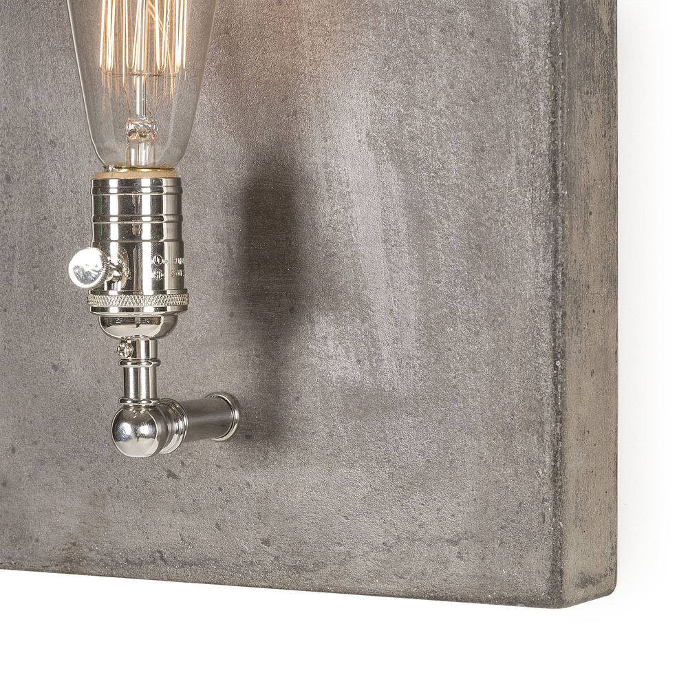 LI052F01 Single light polished nickel -detail_01.jpg