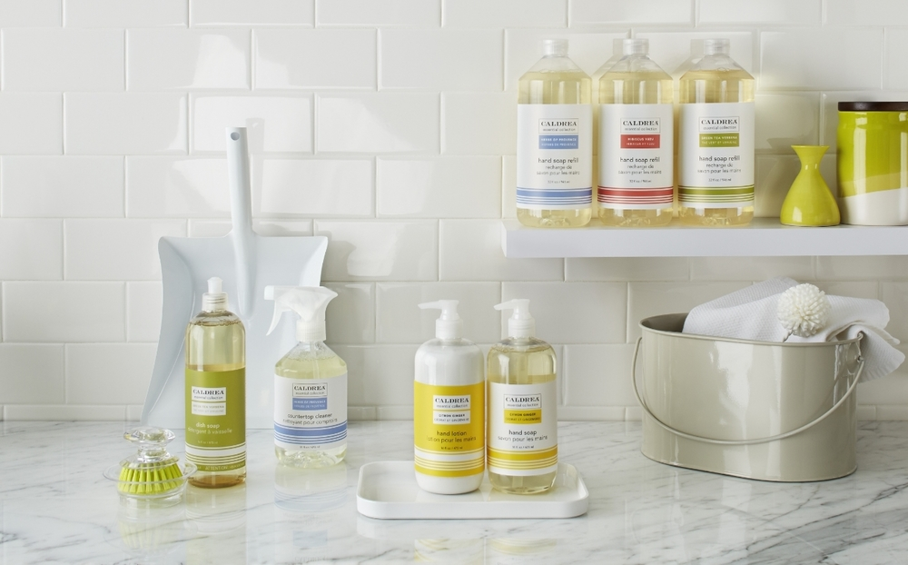 Caldrea Essential Collection Homekeeping Products