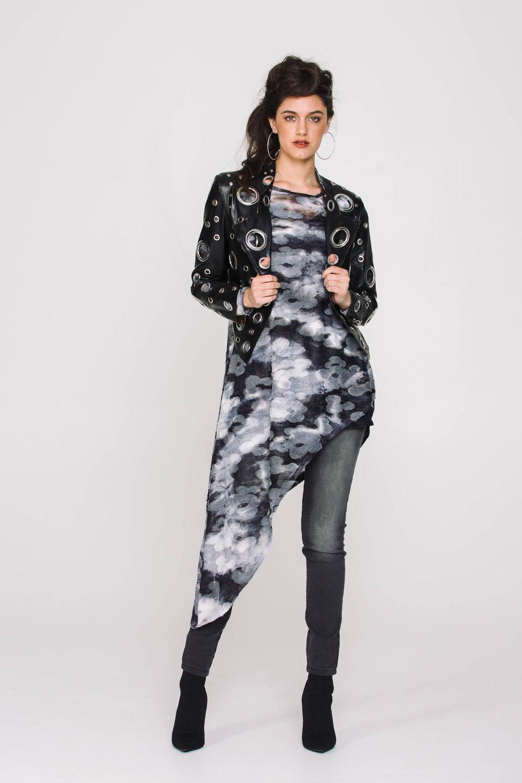 6118X Elvira Tunic Grunge