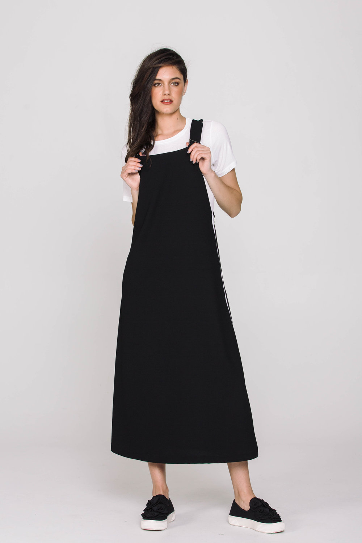 6131X Betty Dress Black and White
