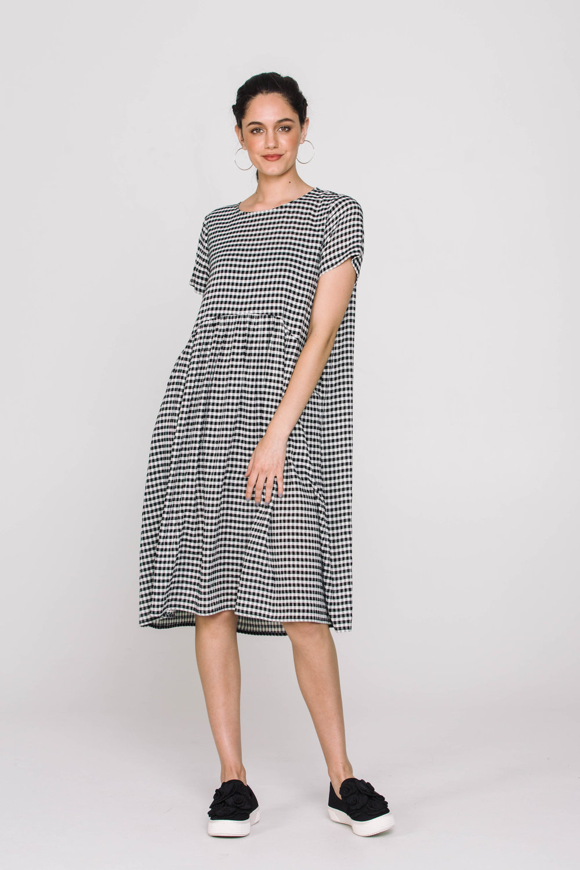 6177X Venice Dress Gingham