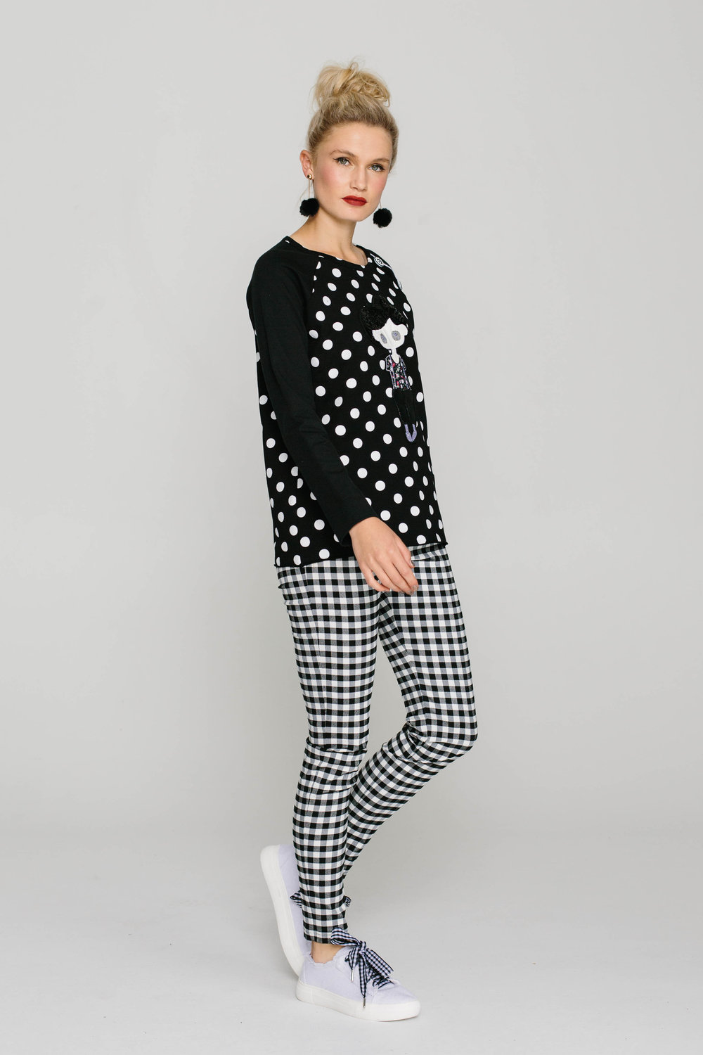 6141W Rock N Roll Jumper Spotty 5561W New Joseph Pant Rupert Bear Plain