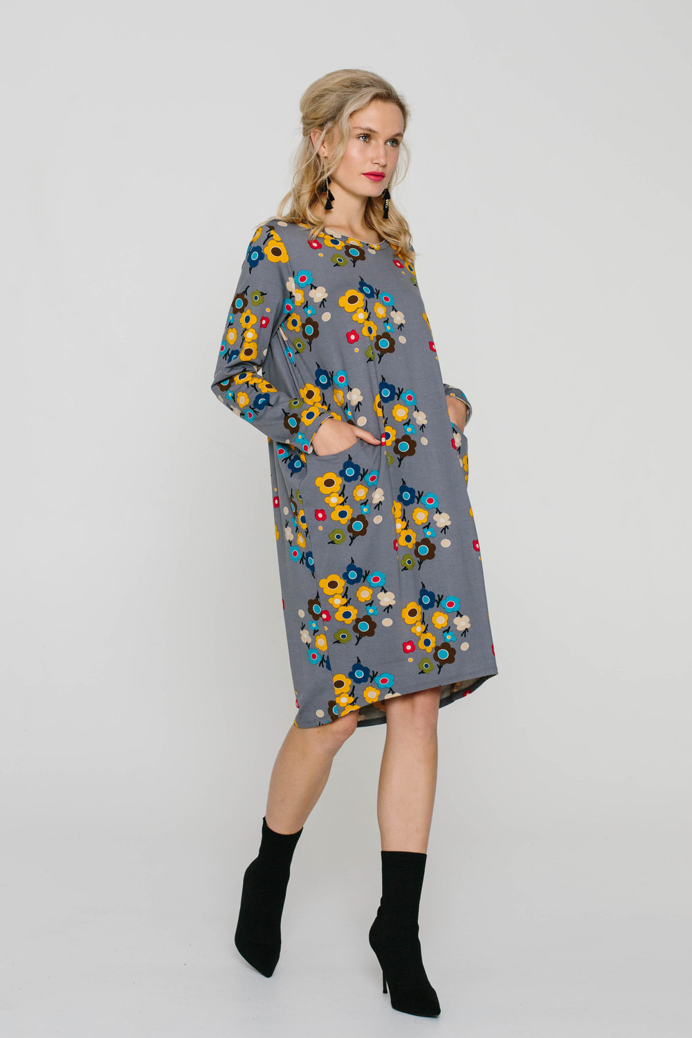 6163W Halo Dress Flower Power