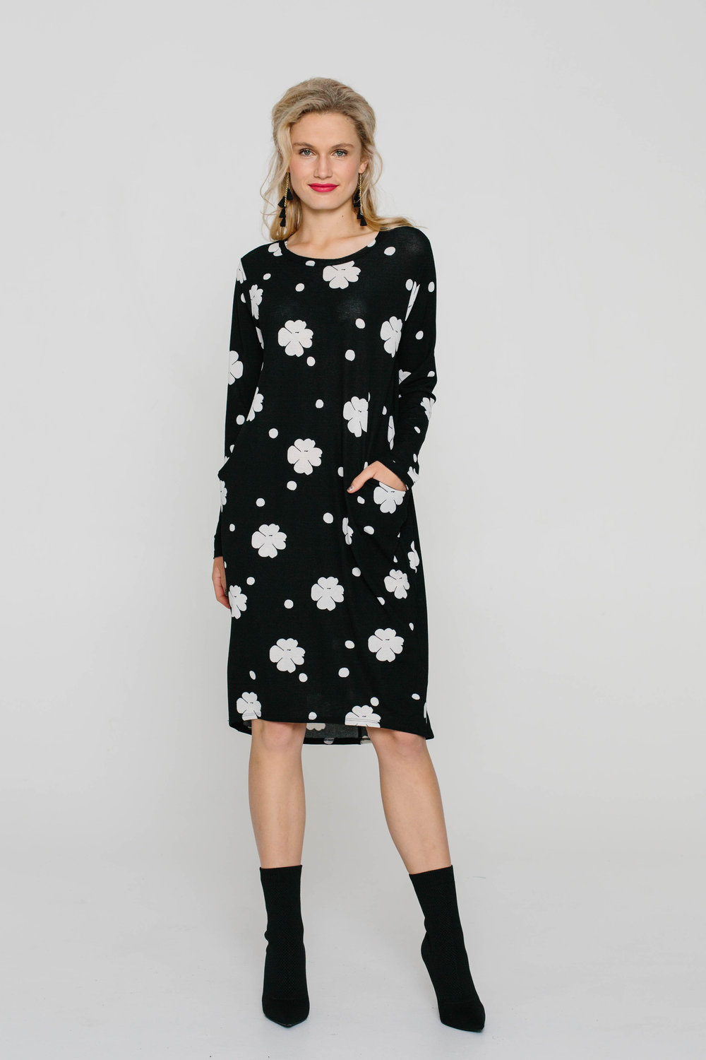 6163W Halo Dress Mary Quant Black