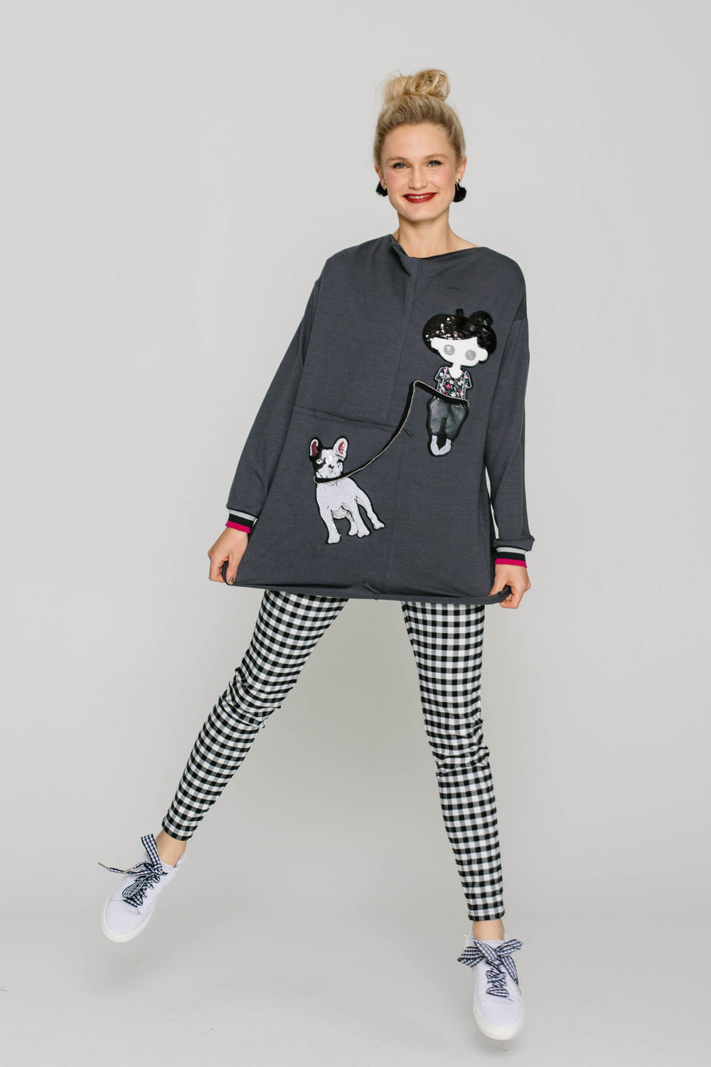 6169W Poppy Sweat Black 5561W New Joseph Pant Rupert Bear Plain