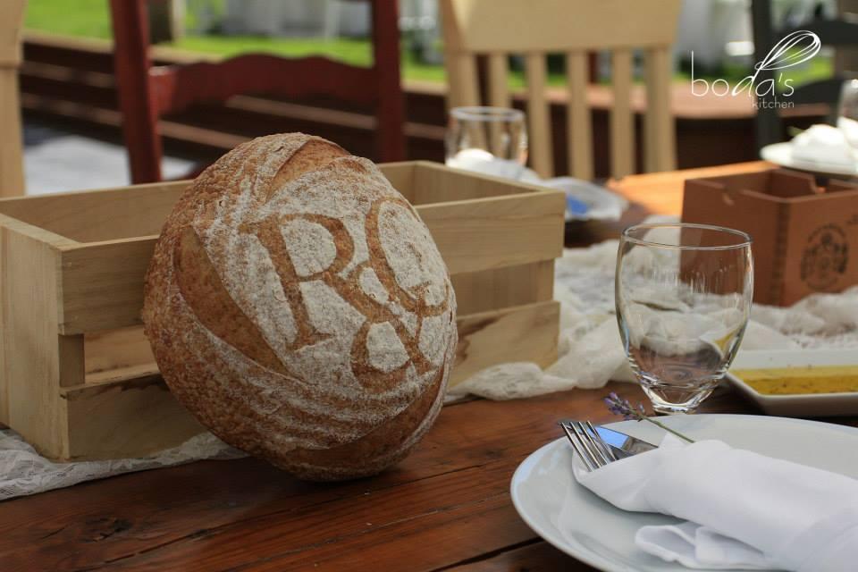 Wedding Loaf for Boda's Kitchen