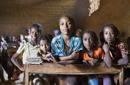 Lauren Werner - Girls In School, Kembata-Temaro Zone, Southern Ethiopia