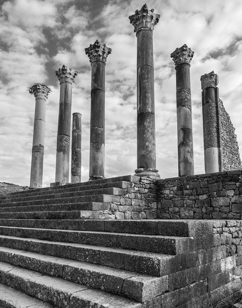 Roman Ruins at Volubilis, Morocco , by Bill Lane. All rights reserved.